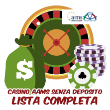 Casino online aams senza deposito new mexico casinos poker tournaments